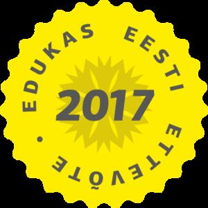 Edukas Eesti ettevõte 2017