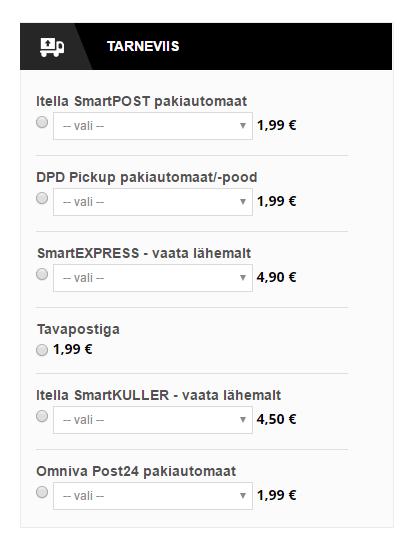 d01a27f8f82 Magento funktsionaalsused II osa – Eesti tarneviisid – Lumav Commerce