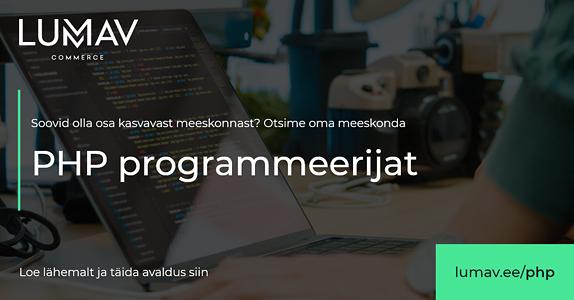 0b60ef9dd11 PHP Programmeerija Lumav – Lumav Commerce